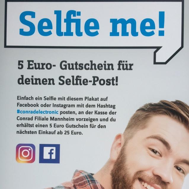 [Conrad] 5 Euro-Gutschein 25 Euro MBW) // lokal Mannheim?