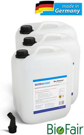 30L Bio-Ethanol 100 für EUR 1,33 pro Liter