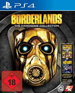 Borderlands: The Handsome Collection (Xbox One & PS4) für je 15,99€ (Saturn)