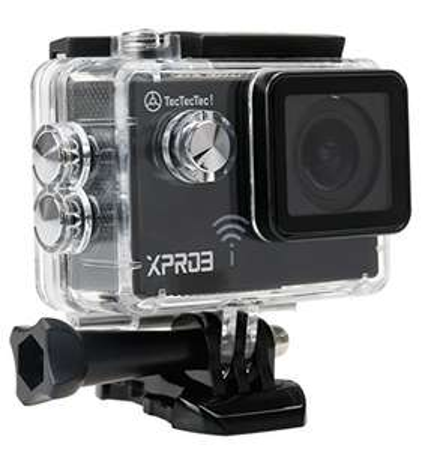 Preisfehler! TecTecTec Actionkamera XPRO3 Ultra HD Sport Action Kamera Action Camera WIFI 4K Full HD 1080P Sport Action Cameras Cam Wasserdicht 170 ° Für 10,50€