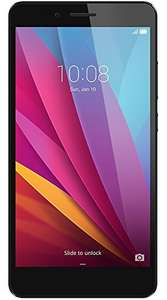 Honor 5X LTE + Dual-SIM (5,5'' FHD IPS, Snapdragon 616 Octacore, 2GB RAM, 16GB Speicher, 13MP, 3000mAh, Android 6) für 152,26€ [Amazon.es]