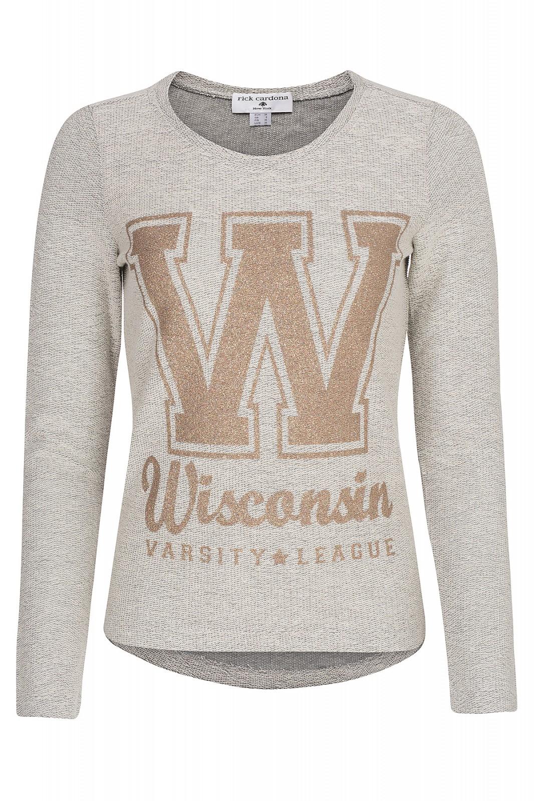 Rick Cardona Wisconsin Damen Pullover Grau für 7,99€ @outlet46