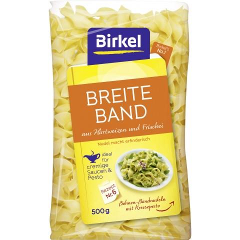 [Rewe] Birkel No.1 Breite Band 15mm Ei 500g für 0,49€ (Angebot+Coupon)