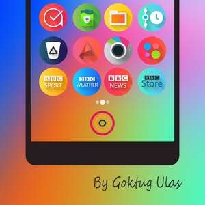 [Android] Graby Spin - Icon Pack (0,00 statt 0,99)