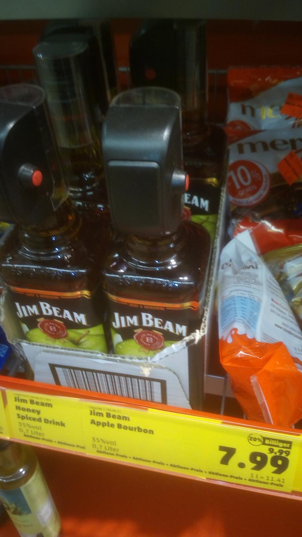 [Penny Frankfurt am Main-Mertonpassage] - 0,7 L Jim Beam Honey / Apple Abverkauf - € 7,99