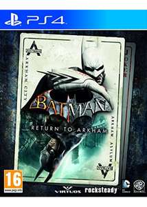 Batman: Return To Arkham (Xbox One & PS4) für je 18,42€ inkl. VSK (Base.com)