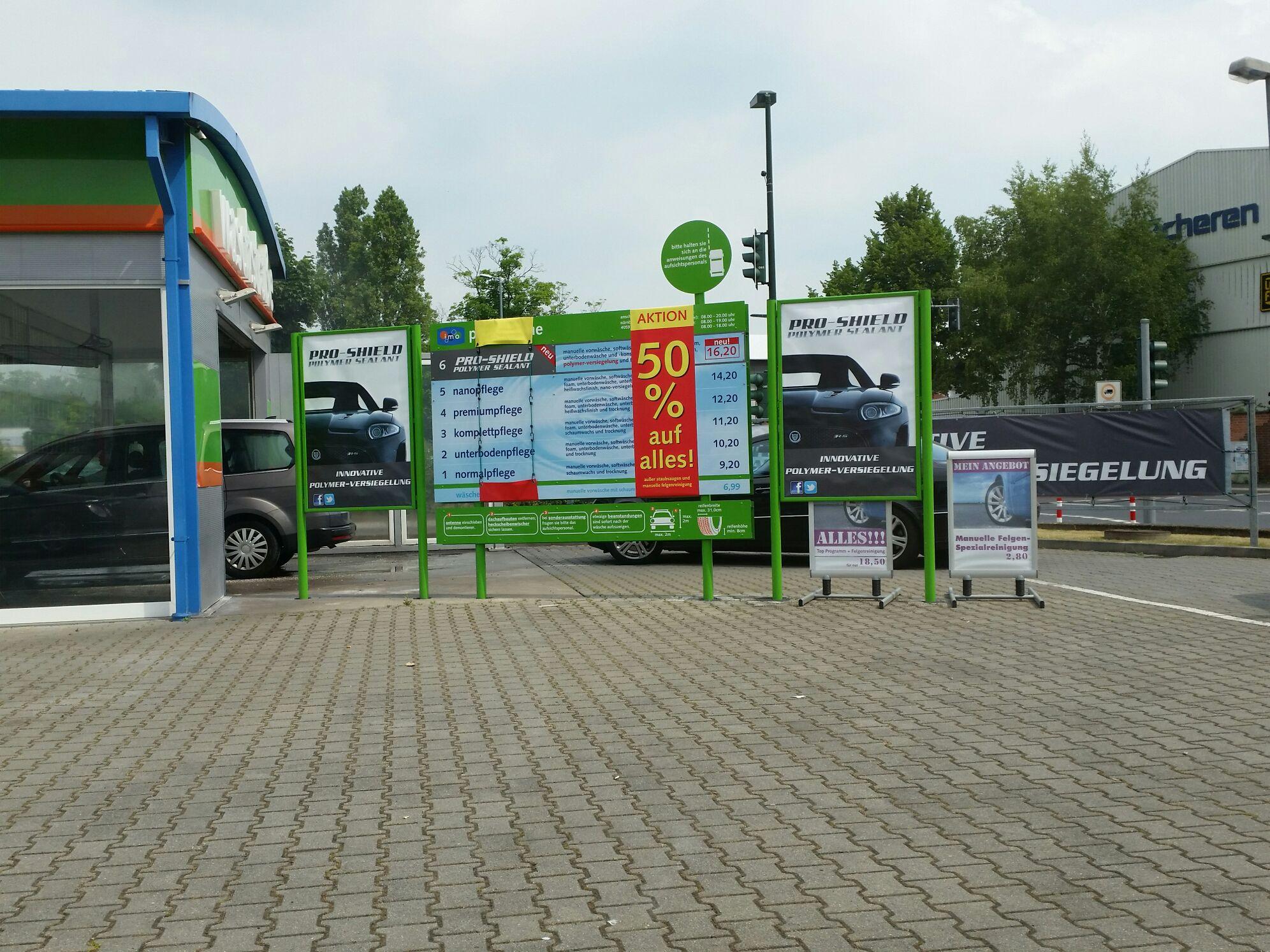 50% auf Autowäsche in Düsseldorf