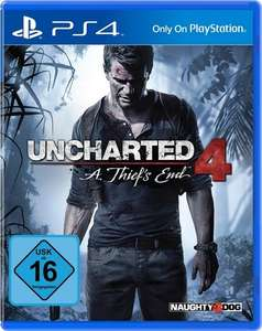 Uncharted 4: A Thief's End (PS4) für 19,99€ (Otto)