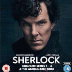 Sherlock Staffel 1-4 + Abominable Bride Blu-ray-Box [UK-Import]