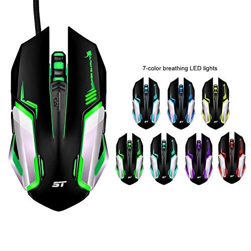 Gaming Maus mit 3200 DPI Optische USB  Maus auf Amazon -10% Rabatt und Versandkostenfrei