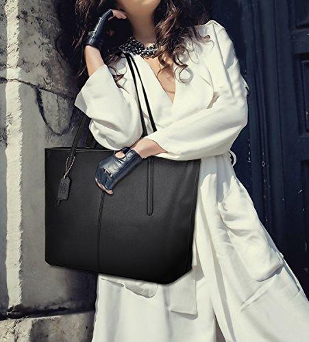 Coofit Damen Handtasche black