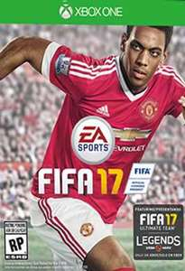 Fifa 17 (Xbox One Digital Code) ab 8,66€ (CDKeys)