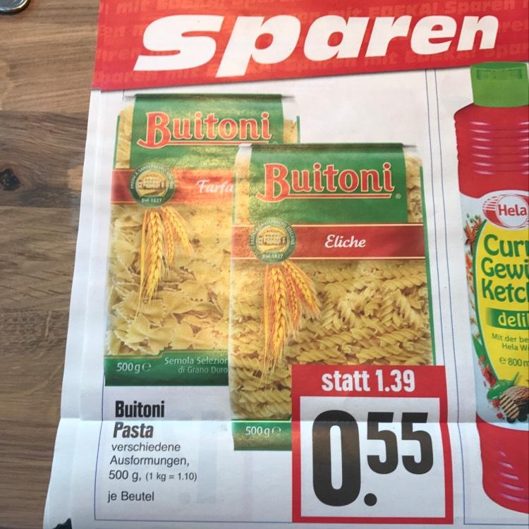 Buitoni Pasta verschiedene Sorten je 500g @ Edeka Hessenring