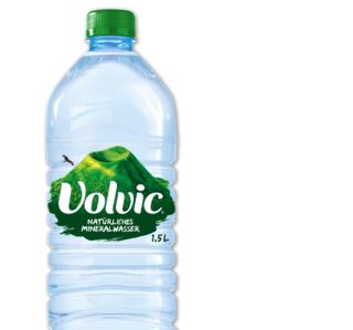 VOLVIC Mineralwasser Naturelle Leichtperlig - 3.6.2017 bei Penny