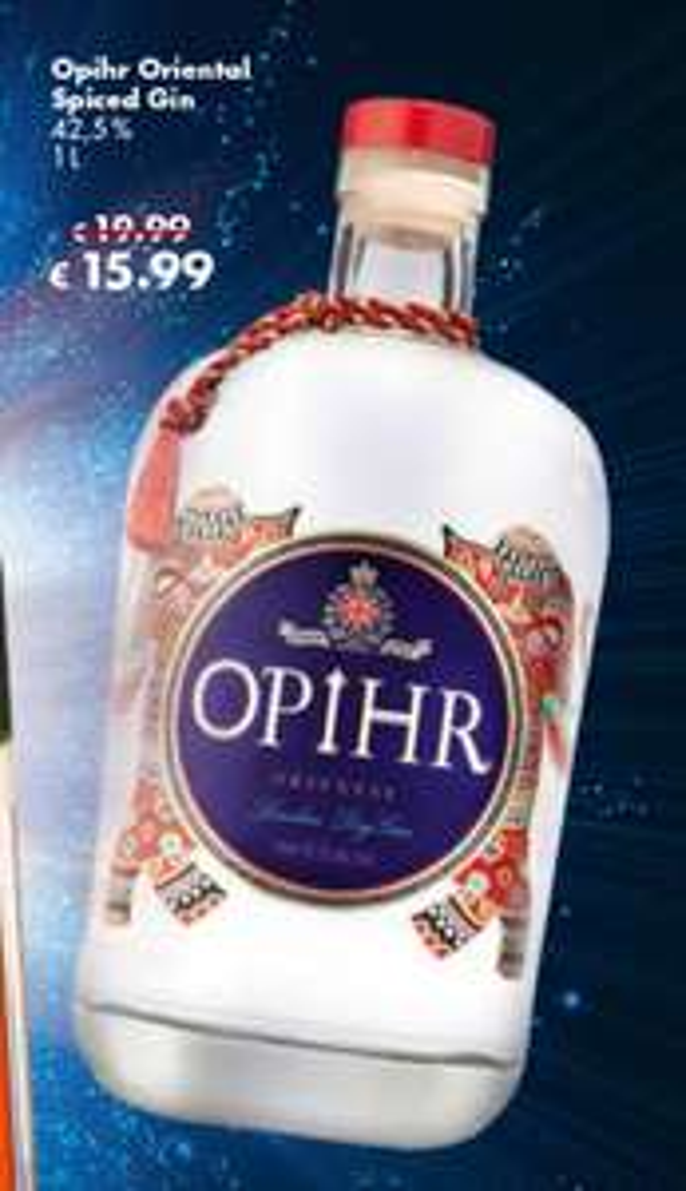 OPIHR GIN (Grenzgänger CZ Travel-Free)