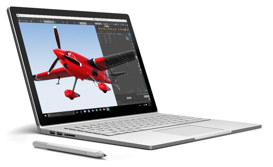 (B-WARE) Surface Book i5 6300u, 128gb SSD, 8gb RAM