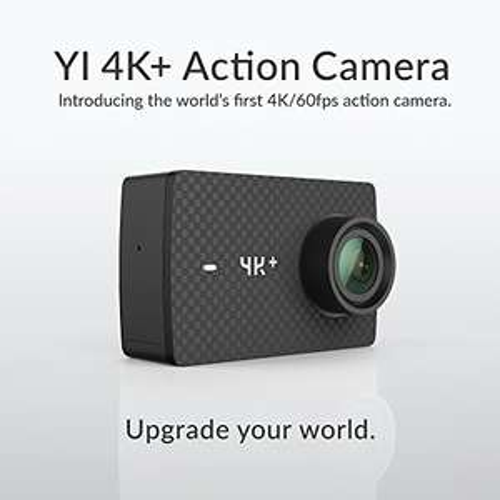 Neue Yi 4K Plus Action Cam (EU Version) inklusive viel Zubehör von Amazon