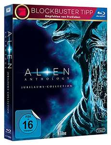 Alien - Jubiläums Collection - 35 Jahre [Blu-ray] für 14,99 € > [amazon.de] mit Prime u. [saturn.de] Vsk frei