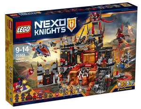 20% Rabatt auf Lego City, Star Wars, Nexo Knights, Friends und Duplo bei [Karstadt] z.B. Nexo Knights 70323 Jestros Vulkanfestung für 76,94€