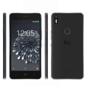 bq Aquaris X5 Plus mit 32GB + 3GB RAM in schwarz/anthrazitgrau - AMAZON