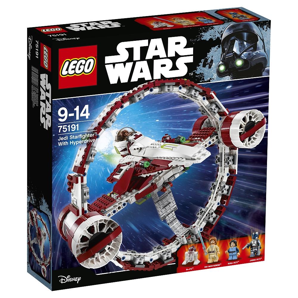"""LEGO Star Wars 75191 Jedi Starfighter with Hyperdrive [Toys""""R""""Us mit StarCard]"""