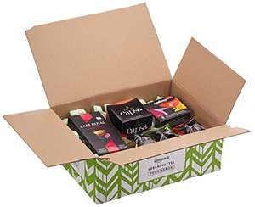 Amazon Probierbox Kaffee für Nespresso Maschinen inkl. 7€ Guthaben für die Kategorie Getränke [Prime]