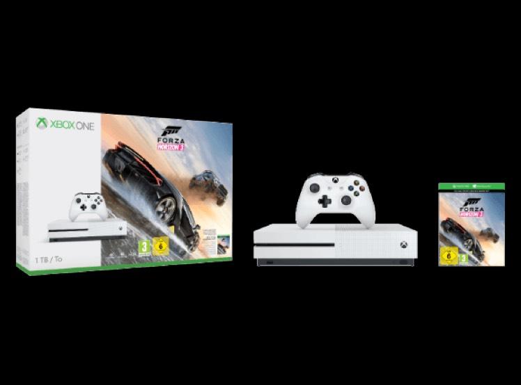 Xbox One S 1TB + Forza Horizon 3 + 2. Controller