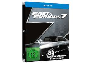 Fast and Furious 1-7 Exklusive Media Markt Steelbooks (Blu-ray) für je 7,99€ (Media Markt)