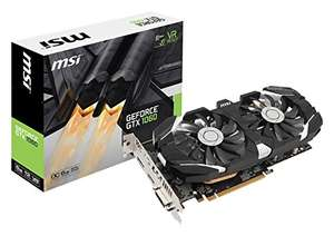 MSI GeForce GTX 1060 6GT OC V1 für 244,93€ (Amazon.fr)