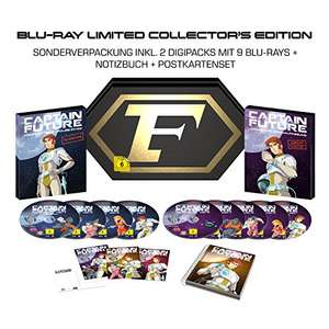 Captain Future Komplettbox BluRay Limited Collector's Edition - Indie Tiefpreistage [Amazon]