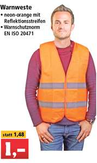 [Lokal] Thomas Philipps - Warnweste 1 Euro, Kraftstoff-Kanister 5 bis 20l für 2,99 bis 8,88 Euro