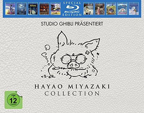 [Amazon] HAYAO MIYAZAKI Ghibli COLLECTION - (BLU-RAY) für 149,97€