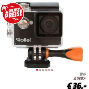 ROLLEI 350 Actioncam , WLAN für 36€ ( Media Markt )