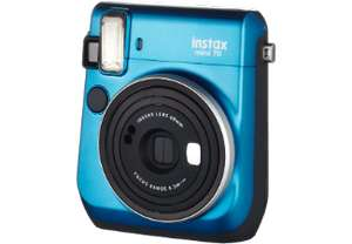 FUJIFILM Instax Mini 70 Sofortbildkamera in Rot & Blau (pvg 99€)[MediaMarkt]