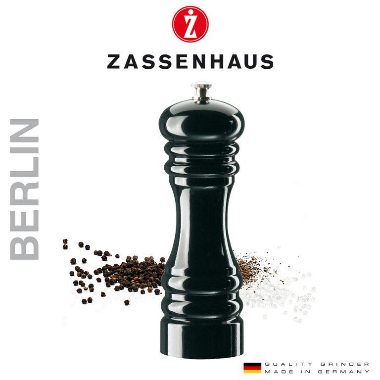 Zassenhaus Pfeffer- oder Salzmühle in schwarz oder buche - 18cm ab 13€, 24cm ab 16€, 40cm ab 32€ [Karstadt]