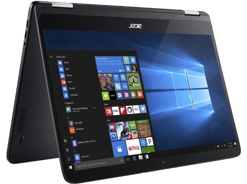 Acer Spin 7 – i7, 8GB, 256GB Speicher, RAM, Win 10 + für 945€ (PVG: 1145€)