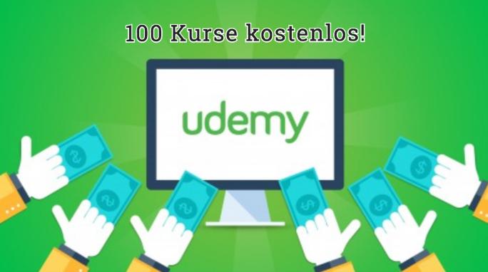 100x Udemy Kurse kostenlos!