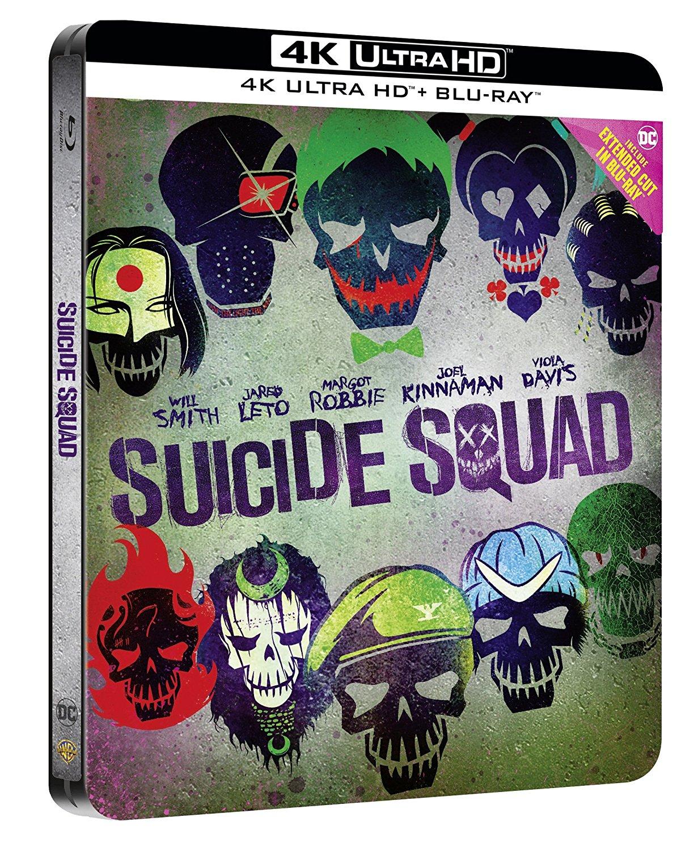 4x UHD-Blu-Ray für 44,13€ inkl. Versand, z.B. Suicide Squad, Deadpool, The Revenant, Joy (alle mit deutschem Ton) [Amazon.it]