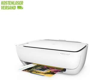 Notebooksbilliger.de | HP DeskJet 3636 All-in-One Drucker [Drucken, Scannen, Kopieren, WLAN] inkl. Versand