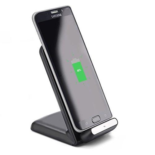 Qi Quickcharge Induktions Ladestation für Samsung @amazon.de