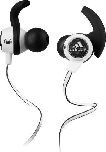 Sport Kopfhörer Monster ADIDAS Supernova In Ear Headset, schweißresistent, wasserabweisend schwarz/weiß für nur 21,59€