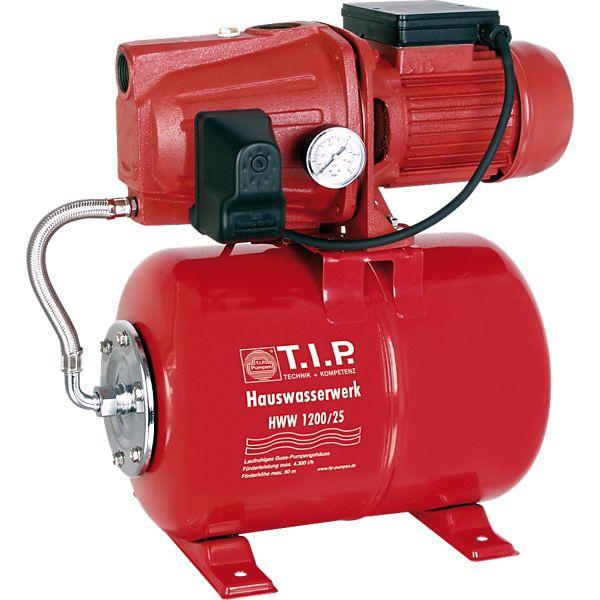 [plus.de] T.I.P. HWW 1200/25 Hauswasserwerk