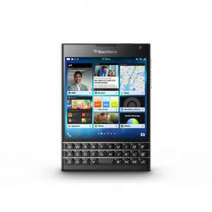 "[T-Online Shop] Blackberry Smartphone Passport schwarz (4,5"", 3-GB-RAM, 32GB)"