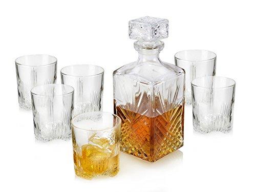 Whiskyglas Set mit Karaffe und Deckel inkl. Versand [amazon.de]