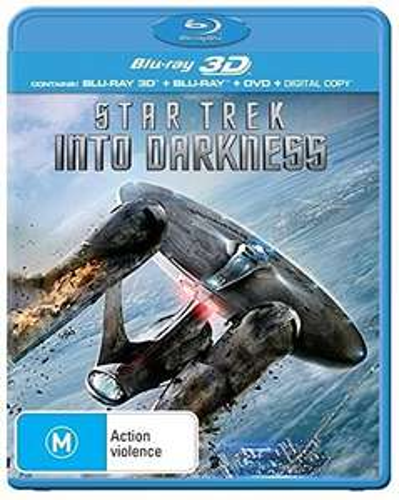 Star Trek - Into Darkness (3D Blu-ray + 2D Blu-ray + DVD) für 9,99€ (Amazon Prime)