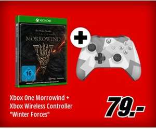 [Mediamarkt GDD] The Elder Scrolls Online Morrowind  (XB1) +Microsoft Xbox Wireless Controller SE (Winter Forces) für 79,-€