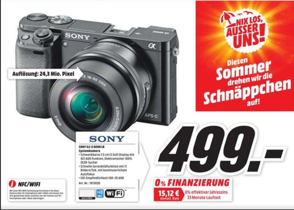 (Lokal Bochum) Sony Alpha 6000