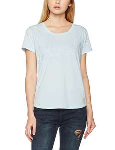 Bench Damen Low Neck Corp Tee T-Shirt