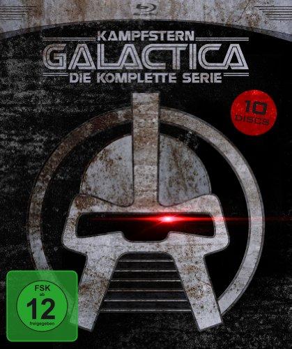 Kampfstern Galactica - Die komplette Serie (9 Blu-rays + 1 DVD) für 24,99€ (Amazon Prime)