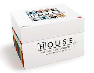 Blu-ray Box - House M.D. The Complete Collection (39 Discs) ab €38,63 [@Zavvi.de]